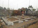 Construction des toilettes à Basantapur