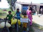 Distribution trimestrielle de riz aux parrainés